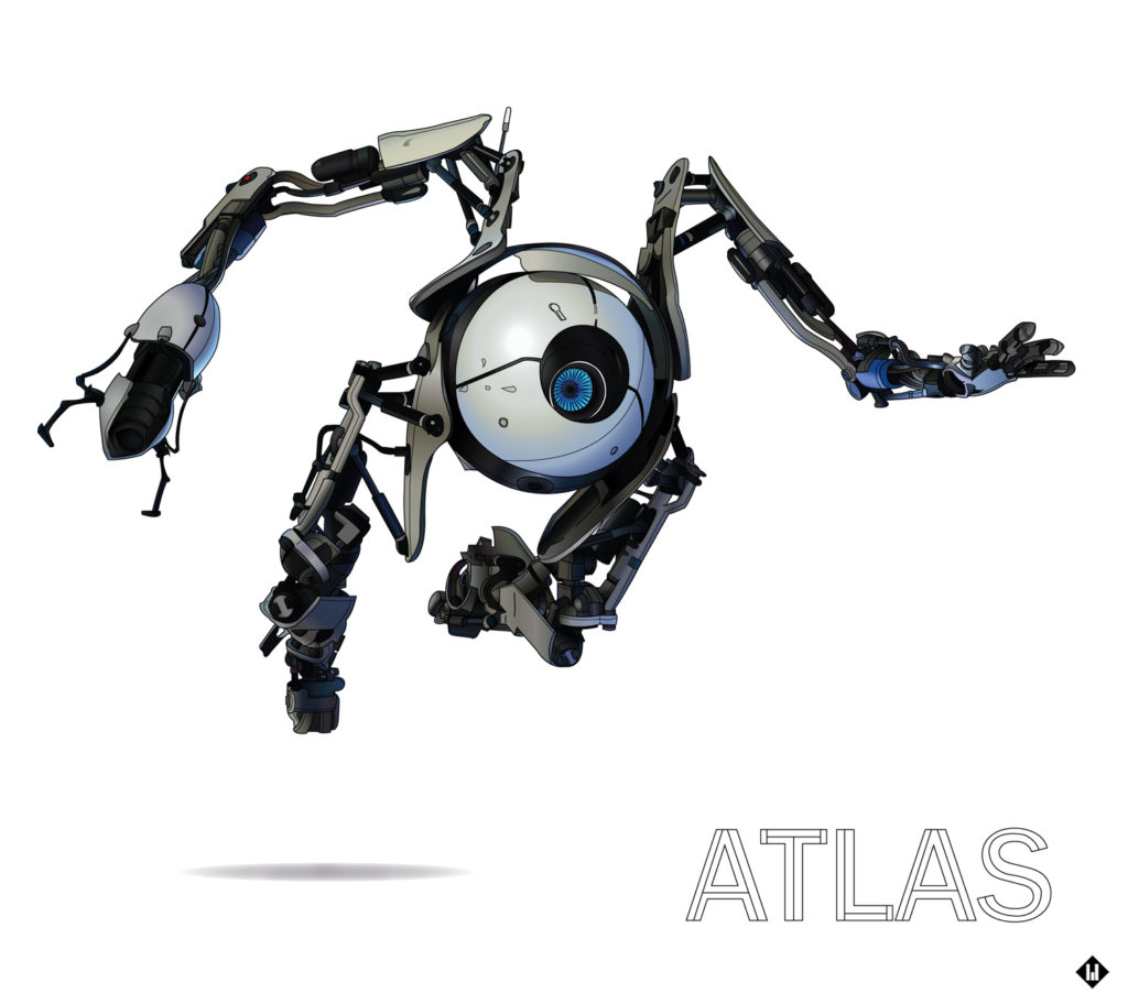 portal2 atlas robot test