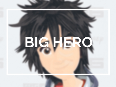 bighero disney animation