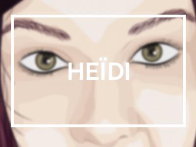 heïdi ami portrait