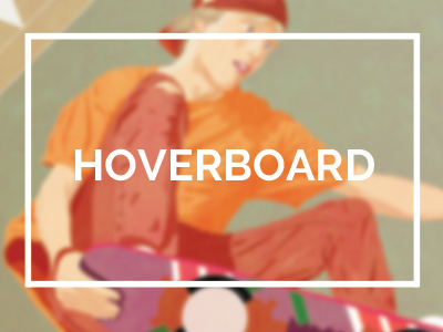 illustration hoverboard