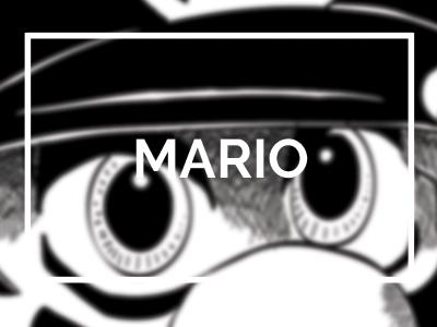 mario illustration manga