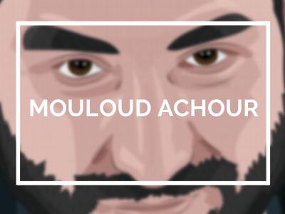 mouloud achour journaliste la clique canal+