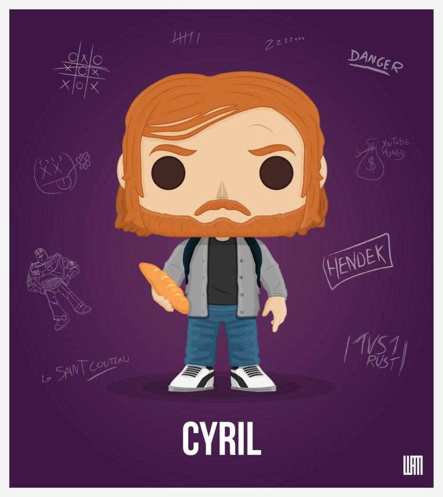 Cyril baguette youtubeur superkonar