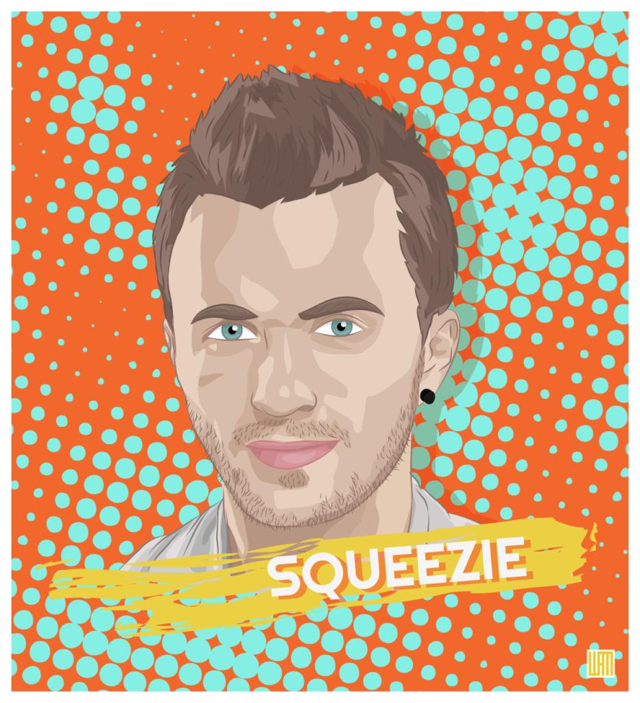 youtubeur français Squeezie Lucas Hauchard