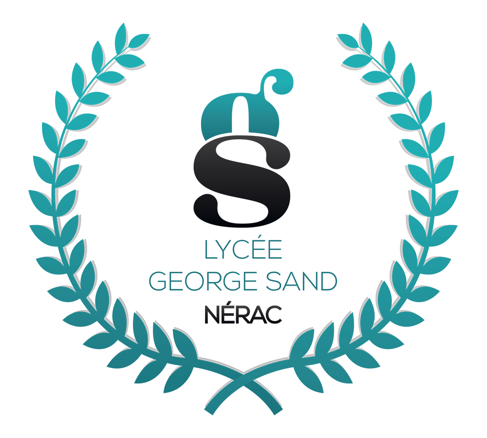 Logo lycée George Sand à Nérac
