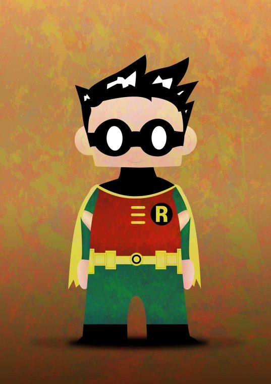 superhéros robin batman