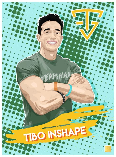 Tibo inshape youtubeur team shape toulouse