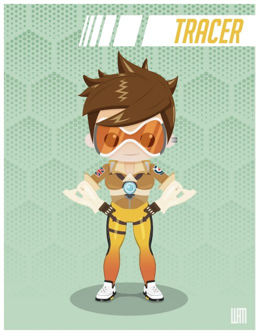 overwatch tracer personnage blizzard