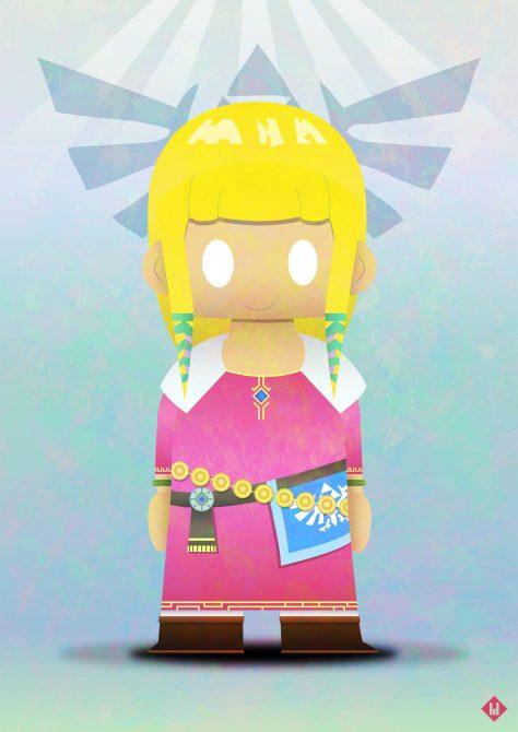 princesse zelda jeu game nintendo